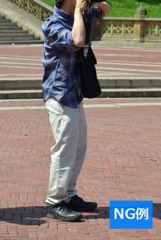 春ファッション 男性ダサイ服装