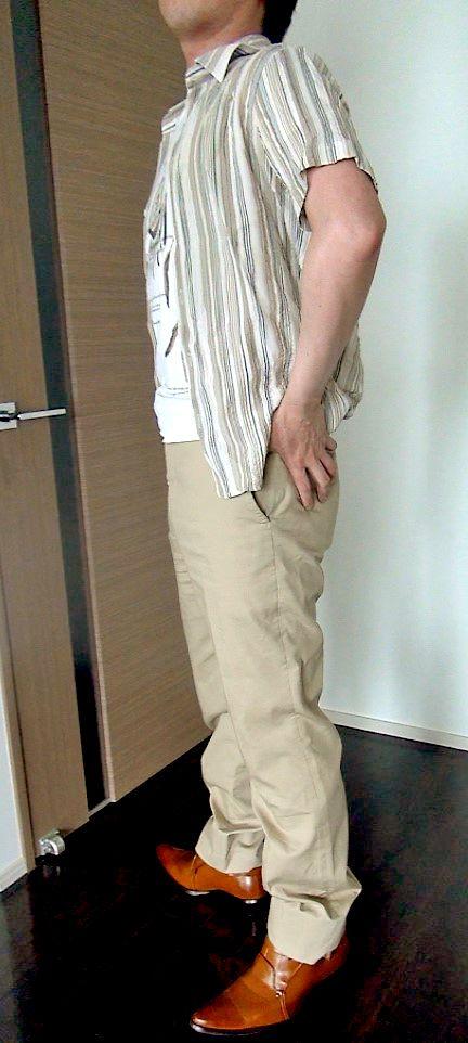 170cmのメンズ服横