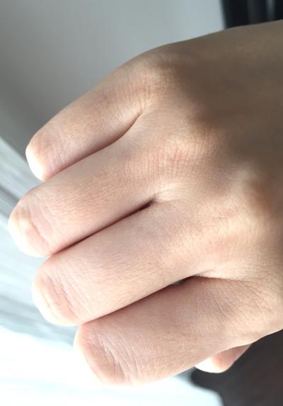 エタラビで脱毛6回目の指