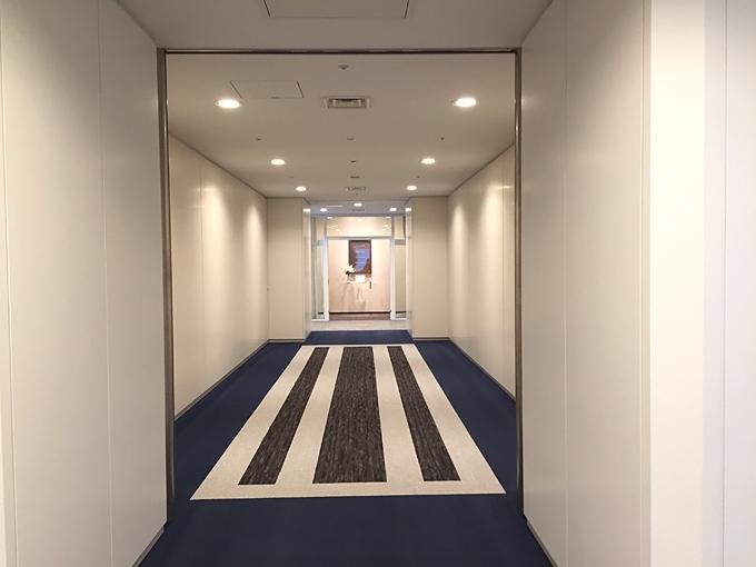 ハイクラス婚活 クラブオーツー横浜ラウンジ入口