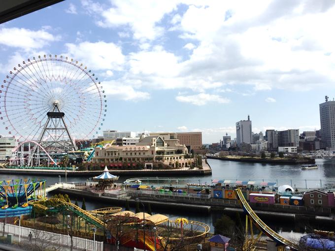 結婚相談所からみえる横浜の風景