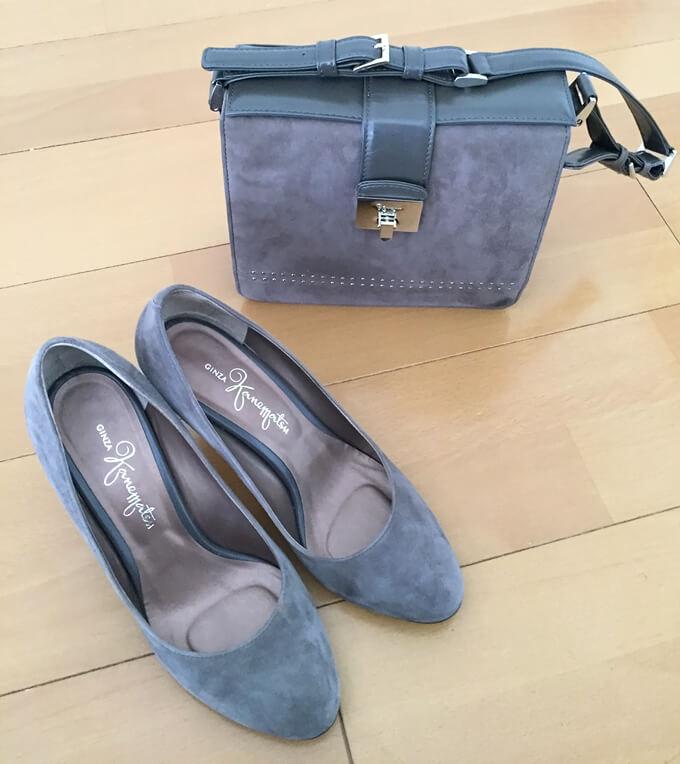 婚活パーティー用 靴とバッグ