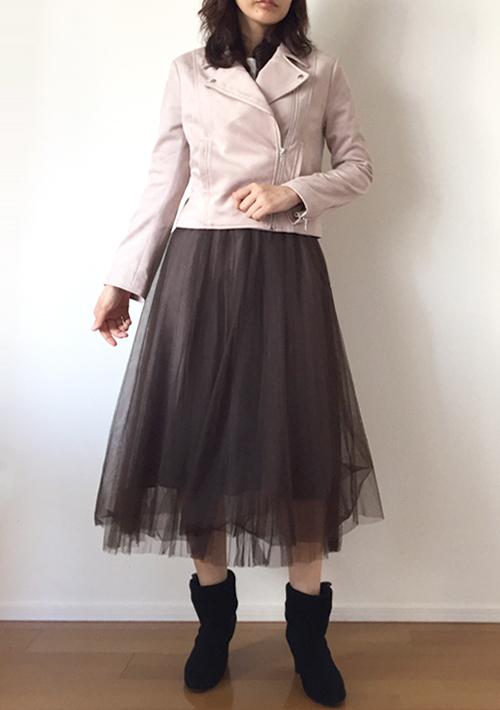 婚活デートアウター秋30代 スエードジャケット