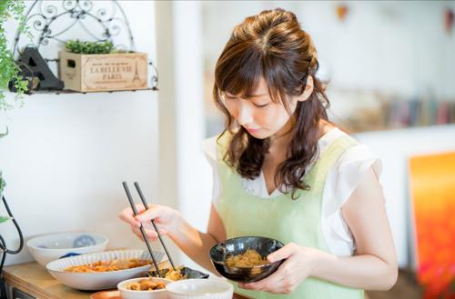 婚活サイトの写真 料理の撮影例