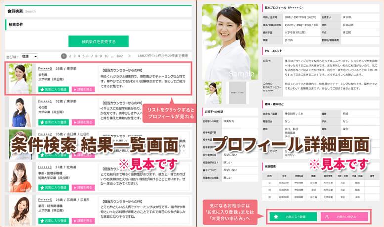 IBJのプロフィール画面