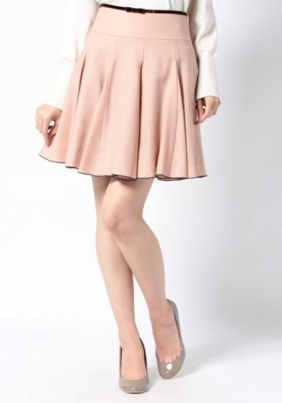 20代春のデートスカート